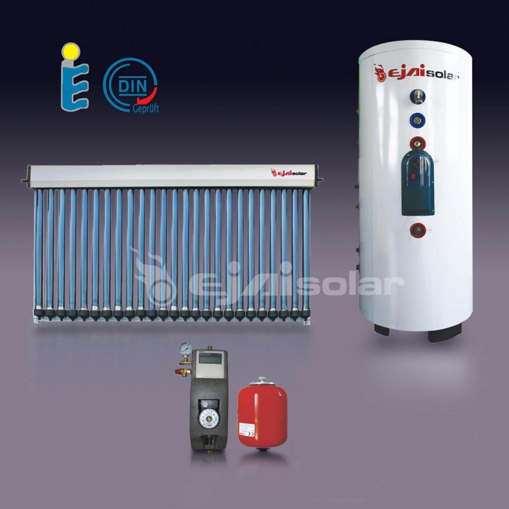 chauffe eau solaire kit 250 l 2 x 30 tubes balcon station. Black Bedroom Furniture Sets. Home Design Ideas